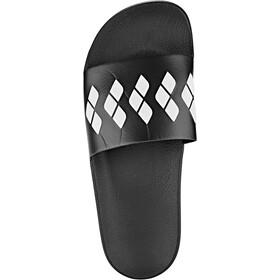 arena Team Stripe Slide Sandalen, zwart